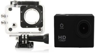 Wonder World ™ Waterproof Helmet Cam Holder Sports & Action Camera(Black) at flipkart