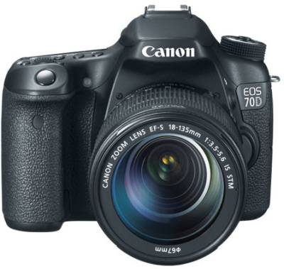 Canon EOS 70D DSLR (With EF-S 18-135 IS STM Lens) Image