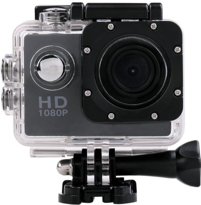 Wonder World ™ Sports Action Waterproof Camcorder 1080P mini HD Cam Holder Sports & Action Camera(Black) at flipkart