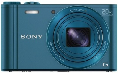 Sony DSC-WX300 Point & Shoot Camera(Blue) 1