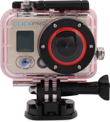 Click Pro Prime Sport   Action Camera Sports   Action Camera Metallic Copper Click Pro Camcorders