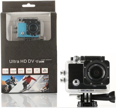 View VibeX � Full HD Waterproof Cam Holder Sports & Action Camera(Black) Price Online(VibeX)