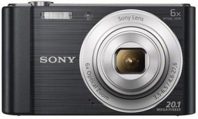 Sony DSC-W810 Point & Shoot Camera(Black) at flipkart