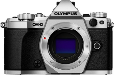 Olympus OMD E-M5 Mark II DSLR Camera (Body only)(Silver)