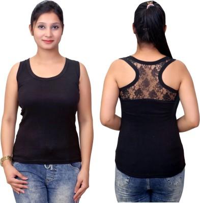 Q-Rious Women Tank Top/Vest at flipkart