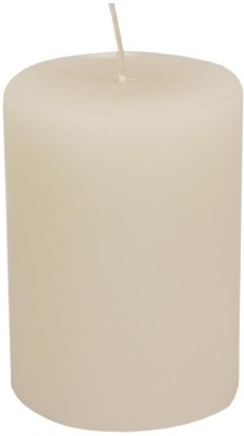 Golmaalshop Wax Plain Pillar Candle(White, Pack of 1)  available at flipkart for Rs.255