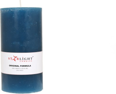 Starlight Candles jyoti Candle(Blue, Pack of 1)