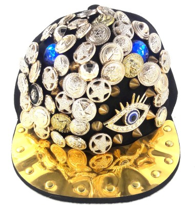 99DailyDeals Dance Skull Eye Stone Hip Hop Cap