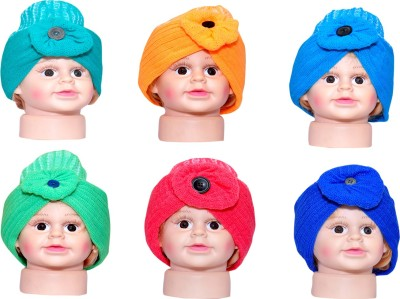 Ellis Self Design Skull Cap(Pack of 6)