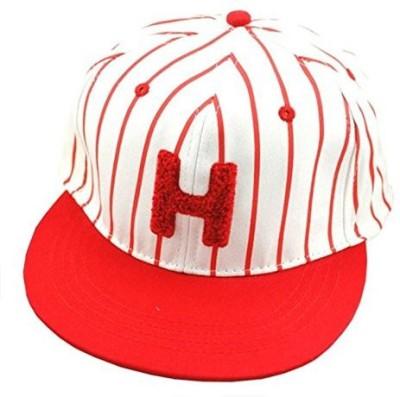 Nimble House Striped Cotton H Letter Hip Hop Baseball Cap For Women & Men Adjustable Bone Stripe Snapback Hat Cap