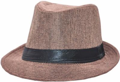 Eccellente Solid Fidora Hat Cap(Pack of 2)