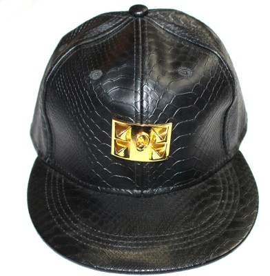 99DailyDeals Pure Leather With Gold Logo Cap