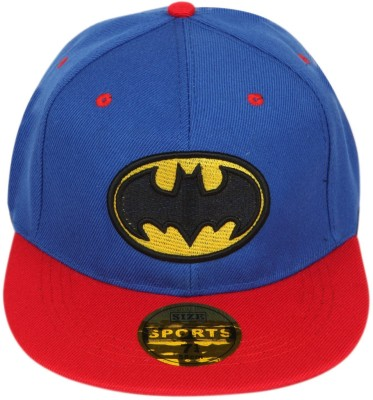 ea123b15274 58% OFF on ILU Solid Batman Caps for men and womens