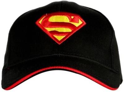 Babji Embroidered Black Solid Stylish Cap