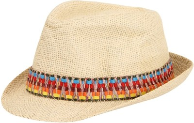FabSeasons Self Design Fedora Hat Cap