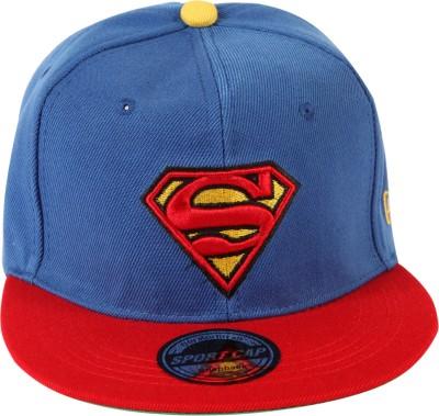 ILU Embroidered DC, Comics, Superman, Snapback, Baseball, Hip-Hop Cap