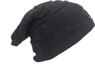Pegaso Solid Knitted Beanie Cap