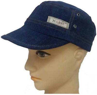 Saifpro Solid Dark Blue Snapback Cap