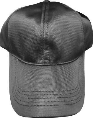Saifpro Solid Black Sports Cap