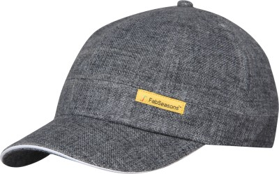 FabSeasons Self Design Short Peak Cap Cap