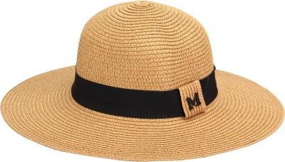 FabSeasons Solid Beach Sun Hat Cap