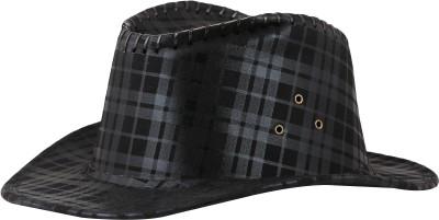FabSeasons Checkered Cowboy Hat Cap