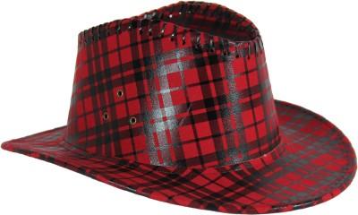 FabSeasons Checkered Fedora Hats Cap