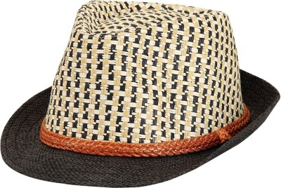 Tiny Seed Solid, Self Design Fedora Hat Cap