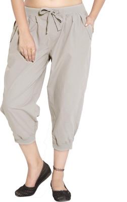 Goodwill Impex Women's Grey Capri