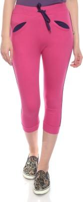 Goldstroms Women Pink Capri at flipkart
