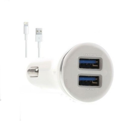 Edge-Plus-2.1A-Dual-USB-Port-Car-Charger-(With-Iphone-5-Data-Cable)