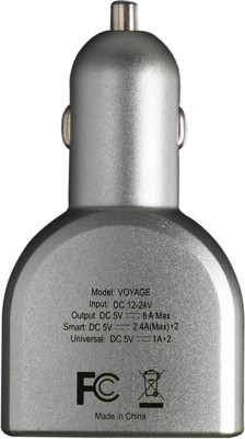 Stuffcool-6A-Voyage-4-Port-USB-Car-Charger