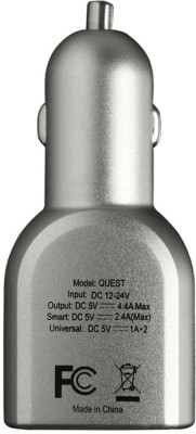 Stuffcool-Quest-4.4A-Triple-USB-Car-Charger