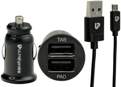 UltraProlink-UM0014-Dual-USB-Car-Charger-(With-Micro-USB)