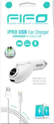 Fifo-1.5A-iPro-USB-Car-Charger-(For-iPhone-5/-5S/-6/-6S)