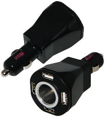 Amzer-87113-Quad-USB-Vehicle-Power-Car-Charger