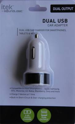 I-Tek-2.4A-Dual-USB-Car-Charger