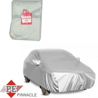 Pinnacle Body Covers Car Cover For Maruti Suzuki Stingray, Ritz (Without Mirror Pockets)(Silver)