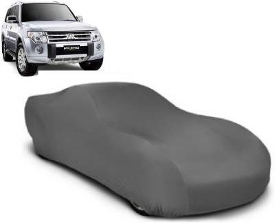 Auto Track Car Cover For Mitsubishi Pajero (Without Mirror Pockets)(Grey) at flipkart