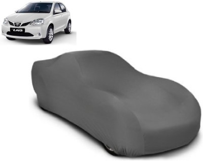 Auto Track Car Cover For Toyota Etios Liva (Without Mirror Pockets)(Grey) at flipkart