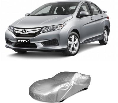 HD Decor Car Cover For Honda City(Silver)