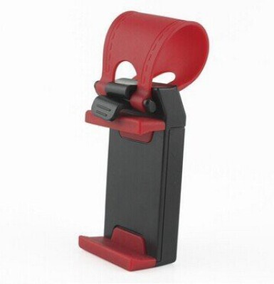 MFEEL Car Mobile Holder for Steering(Red) at flipkart