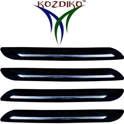 Kozdiko Stainless Steel, Plastic Car Bumper Guard(Black, Pack of 4, Hyundai, Grand i10)  available at flipkart for Rs.599