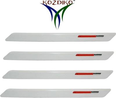 Kozdiko Stainless Steel, Plastic Car Bumper Guard(White, Red, Pack of 4, Hyundai, Grand i10)  available at flipkart for Rs.599