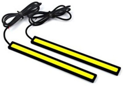 AutoStark COB Led DRL Day time Running Water Proof Set of 2 White For Hyundai Getz Car Fancy Lights(White)  available at flipkart for Rs.290
