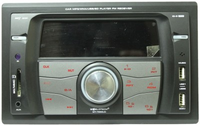 Worldtech WT-7555UC Car Stereo(Double Din) at flipkart