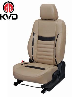 KVD Autozone Leatherette Car Seat Cover For Hyundai VernaDetachable Head Rest Without Back