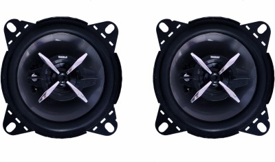 Woodman 4 Inch (200 Watts - 3 Way Speaker) 1 Year Warranty 1052 Coaxial Car Speaker(200 W)