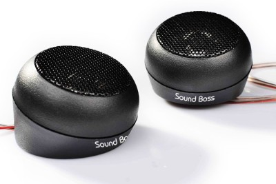 Sound Boss Coaxial Dome SB-TW-001 250W MAX Tweeter Car Speaker(250 W)  available at flipkart for Rs.499