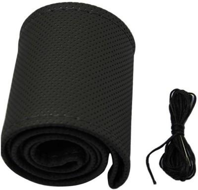 Speedwav Steering Cover For Hyundai i10(Black, Leatherite) at flipkart